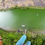 Lądowanie na łodzi - niezwykłe!