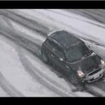 Kierowcy kontra śnieg - USA