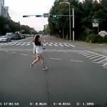 Wyszła z telefonem na ulicę