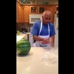 Najszybszy sposób na pocięcie arbuza