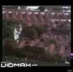 Helikopter sfilmował upadek drugiego helikoptera!