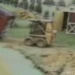Początkujący buldożer