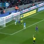Tak Messi strzela w słupki i poprzeczki