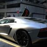 Lamborghini na ulicach Londynu