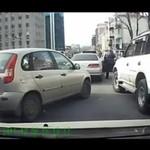 Agresywni kierowcy - BÓJKA!!!