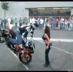 Buziaczek dla motocyklisty - SŁODKIE!