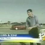 Tragiczny wypadek nagrany przez ekipę telewizyjną
