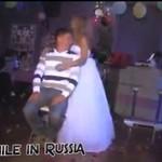 Panna młoda zrobiła STRIPTIZ na weselu!