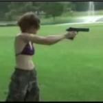 Idioci z bronią - uwaga, NIEBEZPIECZNI!