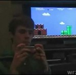 Gra w Mario Bros... tyłem do ekranu!