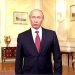Nerwowy Putin męczy się po angielsku