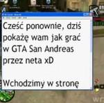 Jak grać w GTA San Andreas przez Internet?