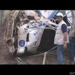 Auto rajdowe - policz ile razy dachowało!