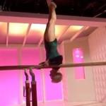 86-letnia gimnastyczka