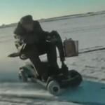Unikatowy pojazd do wymiatania na śniegu