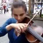"""""""Piraci z Karaibów"""" na skrzypcach"""