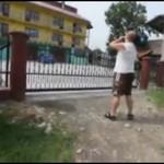 Atak na kamerzystę