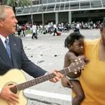 Bush w Nowym Orleanie