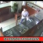 12-latek ocalił sklep przed uzbrojonym bandytą!