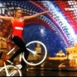 Jazda figurowa... na rowerze!
