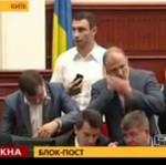 Bracia Kliczko - tak pilnują demokracji!