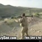 Bazooka kontra żołnierz - MOCNE!