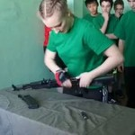 Lekcja przysposobienia obronnego w Rosji