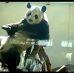 Hip-hopowa panda - co za taniec!