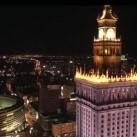 Warszawa z lotu ptaka - PIĘKNE!