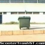 W kontenerze na śmieci