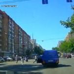 Szybka akcja rosyjskiego kierowcy