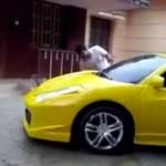 A Ty jak myjesz swoje Ferrari?