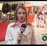 Dziennikarka odebrała telefon podczas reportażu!