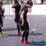 Freestyle futbol piłkarki Barcelony