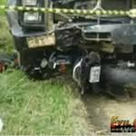 Motocyklista wpadł pod ciężarówkę!