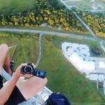 Niebezpieczne hobby - na wysokościach