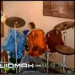 Najmłodszy perkusista rockowego bandu