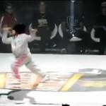Sześciolatka WYMIOTŁA na konkursie breakdance!