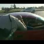 Chciał zatrzymac kierowcę za brak prawa jazdy
