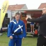 Wpadka mistrza taekwondo