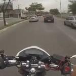 BRAZYLIA - złodziej zastrzelony za kradzież motocykla!