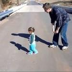 Dzieci boją się własnego cienia