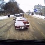 Miły gest kierowcy