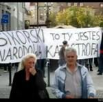 Minister Sikorski kontra kibice w Białymstoku
