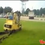 Wypadki wózków widłowych - HARDKOR!