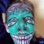 Potwór - zobacz, jak gra twarzą!