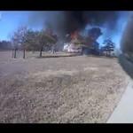 Pożar okiem strażaka