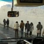 15 metrów śniegu w Japonii