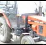 Nauka jazdy traktorem - PRZESZARŻOWAŁ!