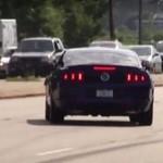 Kierowca Forda Mustanga zapomniał, jak się driftuje